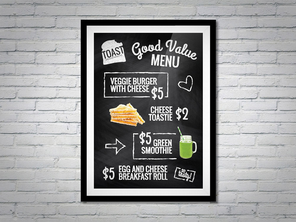 toast specials poster